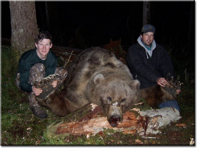True Story: Monster Grizzly Bear Shot in Saddle Hills Alberta